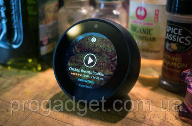 Amazon Echo SpotWi-Fi бездротова колонка з голосовою помічницею Alexa та камерою