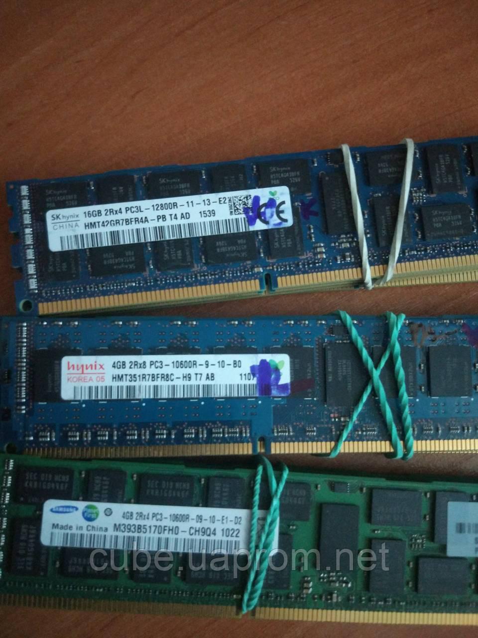 Оперативная память Hynix Samsung Micron DDR3 16GB ECC Registered регистровая для Huanan