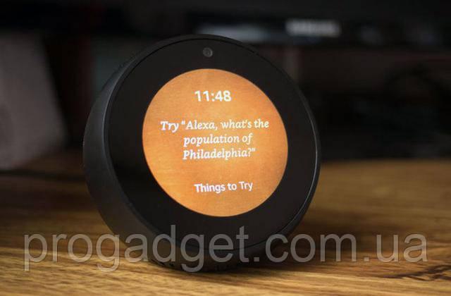 Amazon Echo Spot Bluetooth Wi-Fi беспроводная колонка с голосовой помощницей Alexa