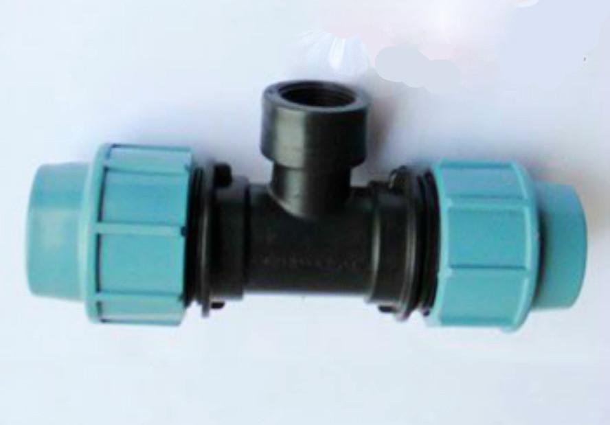 Трійник затискний з внутрішньою різьбою 110х3* (ТРВ).
