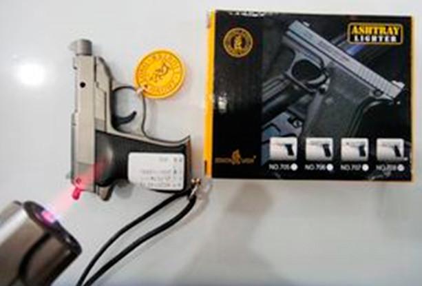 Зажигалка-сувенир Пистолет