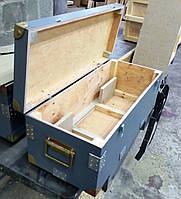 Деревянный ящик для перевозки груза с отделениями