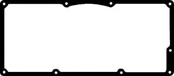 Прокладка клапанной крышки (металлическая) Renault Twingo 1.2 (D7F) 96-98, фото 2