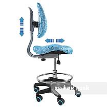 Детское ортопедическое кресло FunDesk SST6 Blue, фото 2