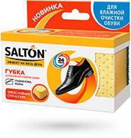 SALTON Губка 3х-слойная д/влажной очистки обуви с глад. кожи и резины