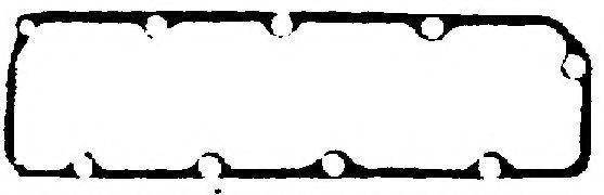 Прокладка клапанной крышки Ford Transit 2.5D -89, фото 2
