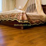 Массивная дубовая доска пола толщиной 15 мм без покрытия, палубный набор ширина 120 мм, фото 8