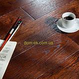 Массивная дубовая доска пола толщиной 15 мм без покрытия, палубный набор ширина 120 мм, фото 10