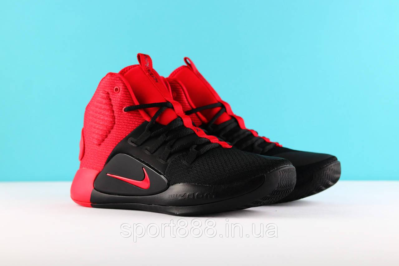 b59c89655 Красно черные Nike Hyperdunk X 2018 мужские кроссовки - sport888 в Николаеве