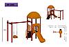 Детская игровая площадка 1205