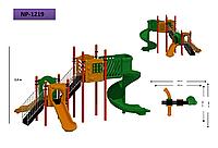 Детская игровая площадка 1219