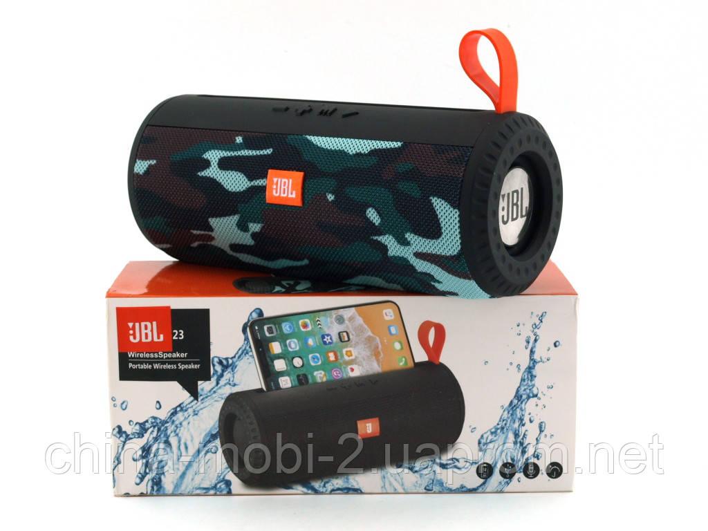 JBL Charge 23 6W копія, портативна колонка з Bluetooth FM MP3, Squad камуфляжна