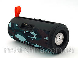 JBL Charge 23 6W копія, портативна колонка з Bluetooth FM MP3, Squad камуфляжна, фото 2