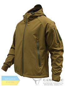 Куртка штормовая Soft-Shell койот