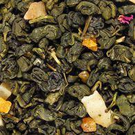 Зеленый ароматизированный чай Абрикосовый джем 1kg