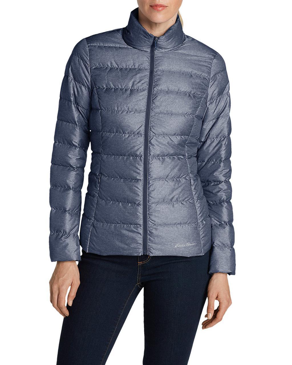 Куртка Eddie Bauer Women CirrusLite Down Jacket NAVY HTR