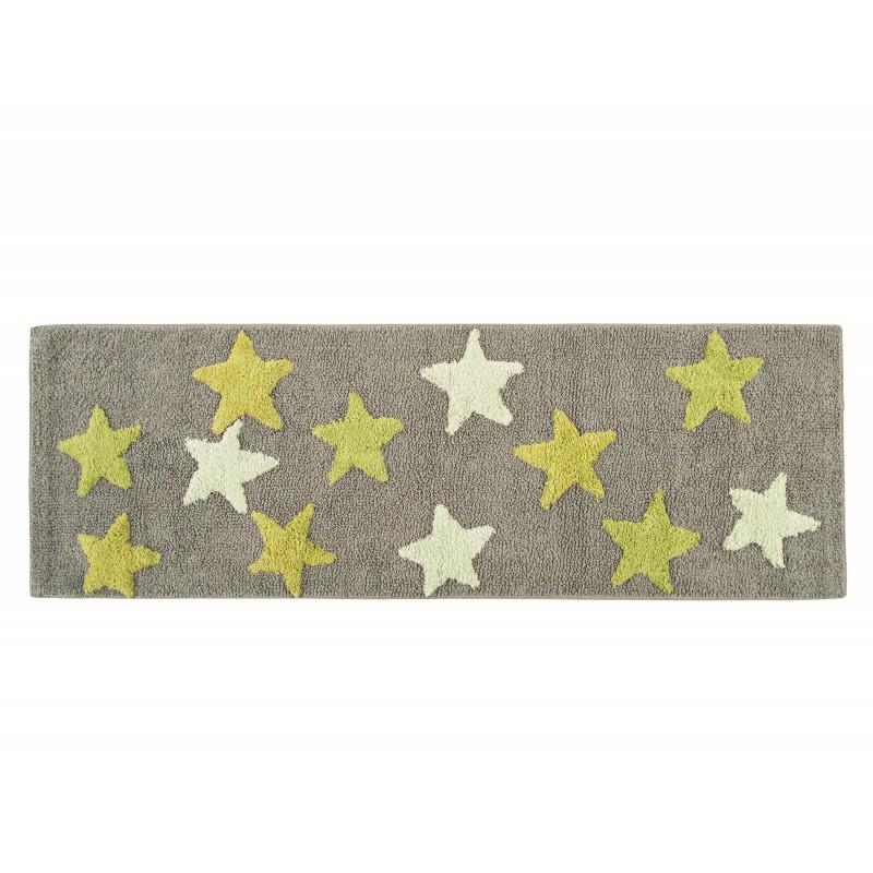 Коврик Irya - Star k.yesil зеленый 50*150