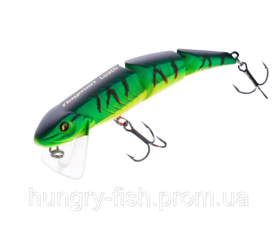 Воблер Flagman Loach 80мм 7,5 м Floating
