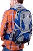 Спортивный качественный молодежный рюкзак 32 л. Onepolar W1550-navy синий