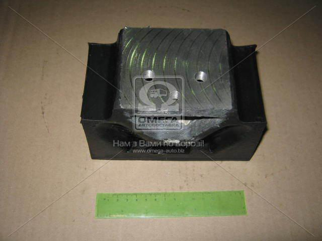 Подушка опоры двигателя боковая без напр МАЗ (пр-во Украина), 6422-1001034