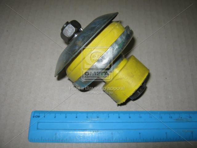 Подушка опоры двигателя УАЗ, ГАЗ 52 передняя в сб. (СИЛИКОН) пр-во Украина, 452-1001020-А