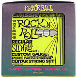 Струны Ernie Ball 2251 Pure Nickel Regular Slinky 10-46, фото 5