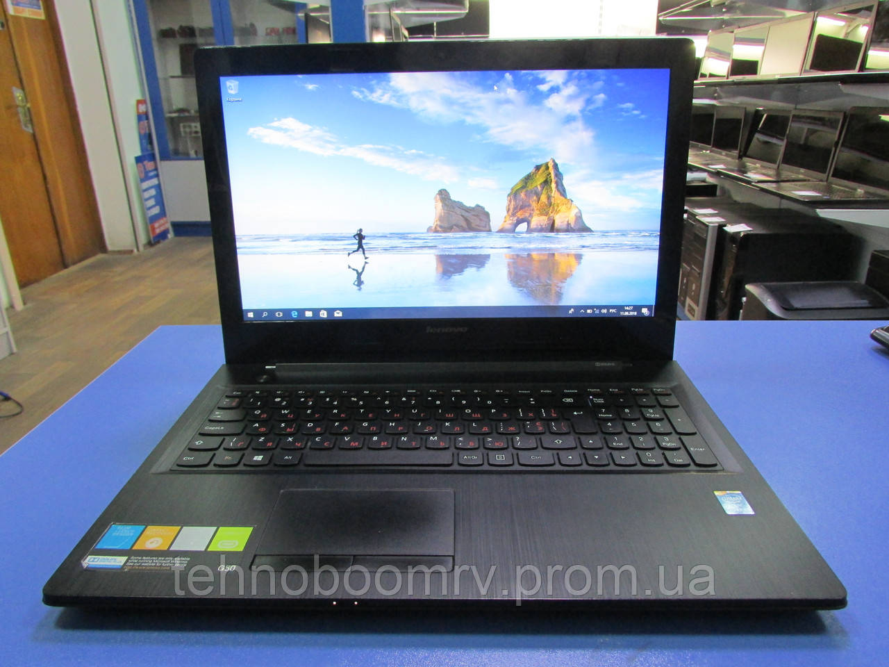 Для учёбы!Lenovo G50/ Intel i3-4005U 1.7GHz/DDR3 4GB/HDD 500GB