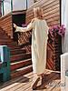 Женское длинное платье «Фисташка» с декором в расцветках. ЕД-1-0319, фото 2