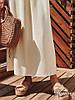 Женское длинное платье «Фисташка» с декором в расцветках. ЕД-1-0319, фото 3