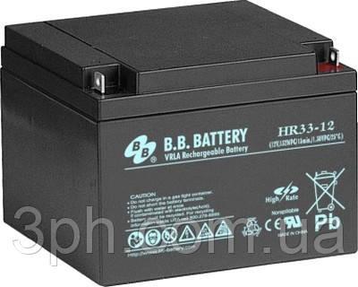 BB Battery hr33-12