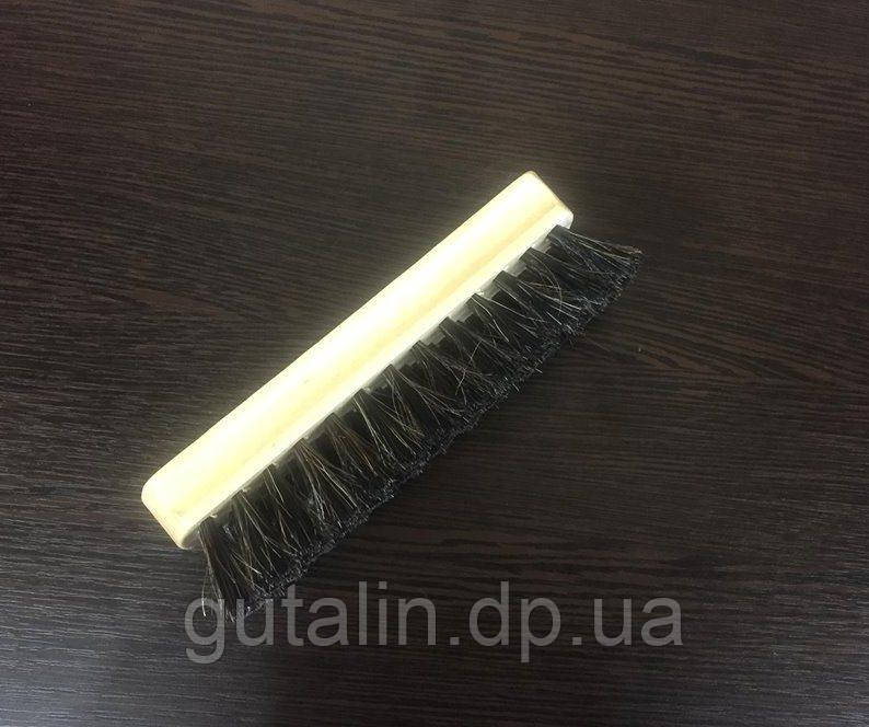 Щетка из натурального ворса  для полировки обуви