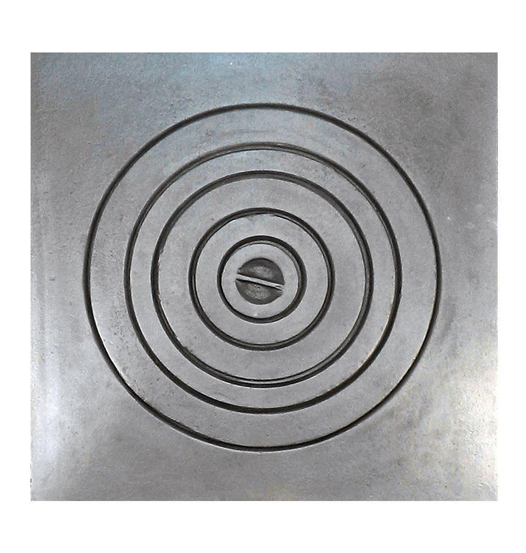 Чугунная плита для печи под казан, варочная поверхность 530х530мм