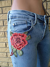 Джинсы женские стрейчевые с завышенной талией  DSPLAY, Турция, фото 3