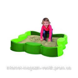 Песочница зеленая Клевер Big 56722