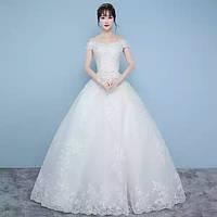 Изысканное пышное платье