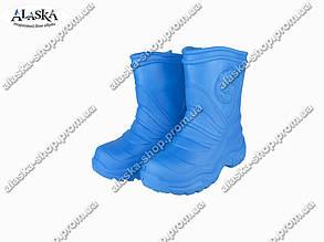 Детские сапоги (Код: Детск ЭВА-4 пустые синие )