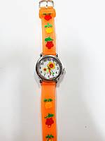 Часы детские  Цветочек