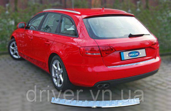 Audi A4 AVANT (2009-) Накладка на задний бампер