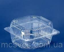 Блистерная одноразовая упаковка ПС-8 (500 мл)  110х105х58