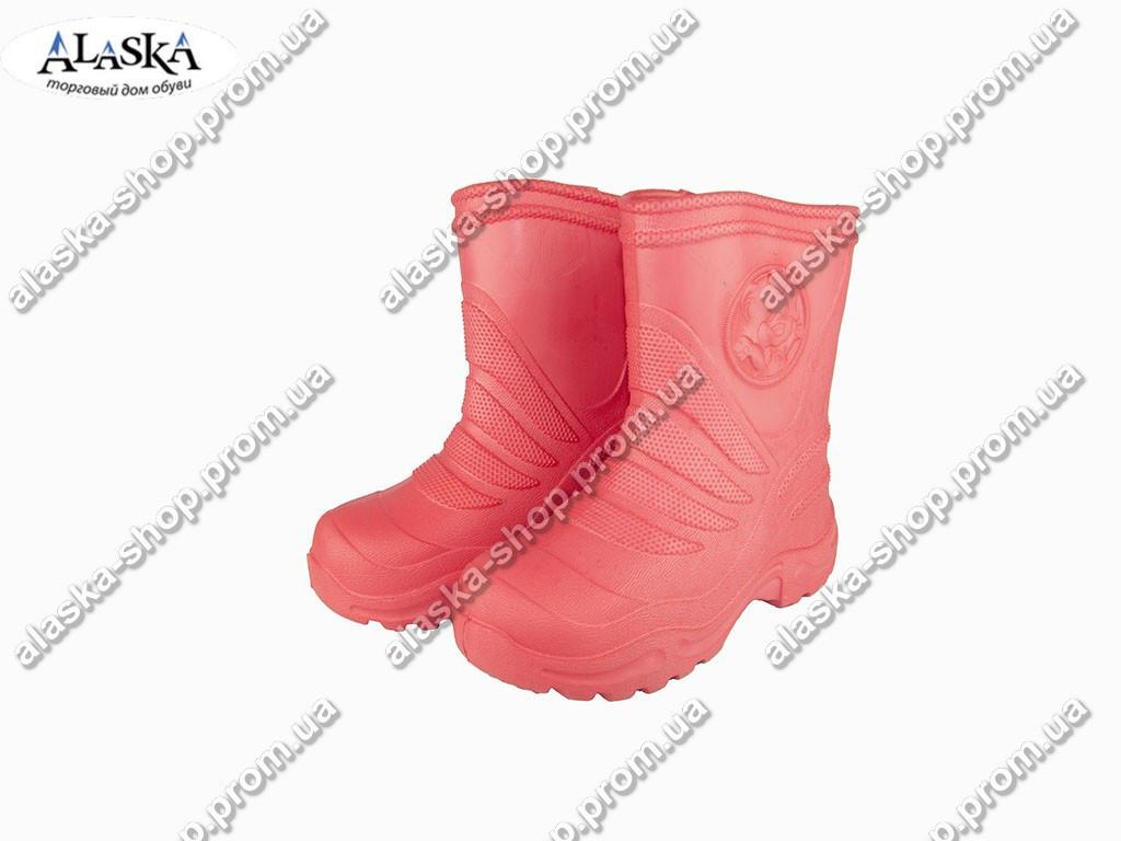 Детские сапоги (Код: Детск ЭВА-4 пустые красный )