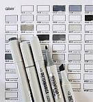 Маркер SKETCHMARKER Тонкий-Скошенный наконечник GRAY (новая цветовая раскладка)