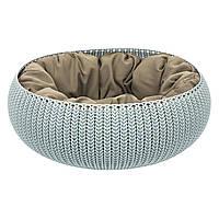 Домик-лежанка для кота / собаки (54*54*20 см) CURVER 229319