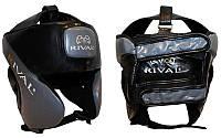 Шлем боксерский в мексиканском стиле Кожа RIVAL  Универсальный