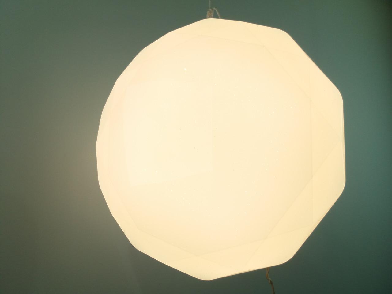 Потолочный Светильник LED-DIAMOND-R001 CCT 30W с пультом ДУ