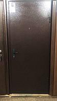 Входная металлическая дверь 850*2030мм, цвет венге