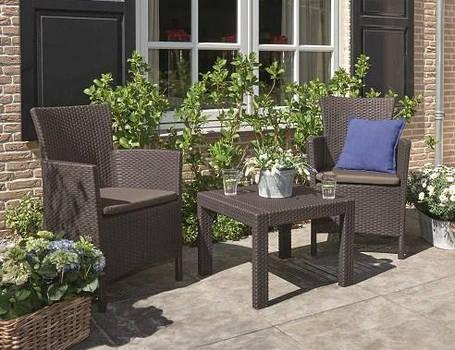 Набор мебели, Rosario balcony set, коричневый, фото 2