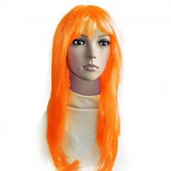 Парик Ровный (оранжевый)