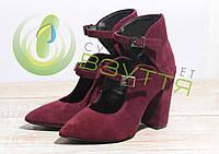 Туфли замшевые женские Ando & Borteggi 157 сл-з 36,37,38,40 размеры, фото 1