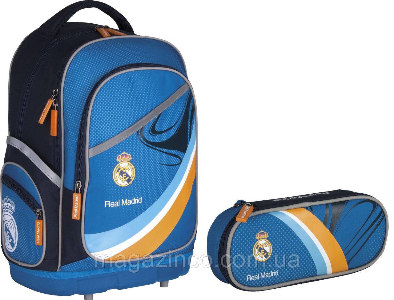 Реал мадрид рюкзак школьный