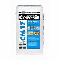 Клей для плитки эластичный Церезит Ceresit CM-17 25кг